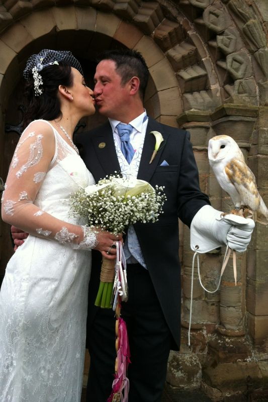 owl ring bearer Owl Ring Bearer Ring on a Wing
