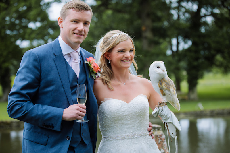Owl Ring Bearer Clare & Chris July 3