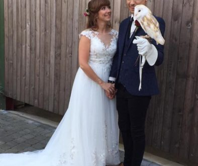owl ring bearer christopher and Laura3