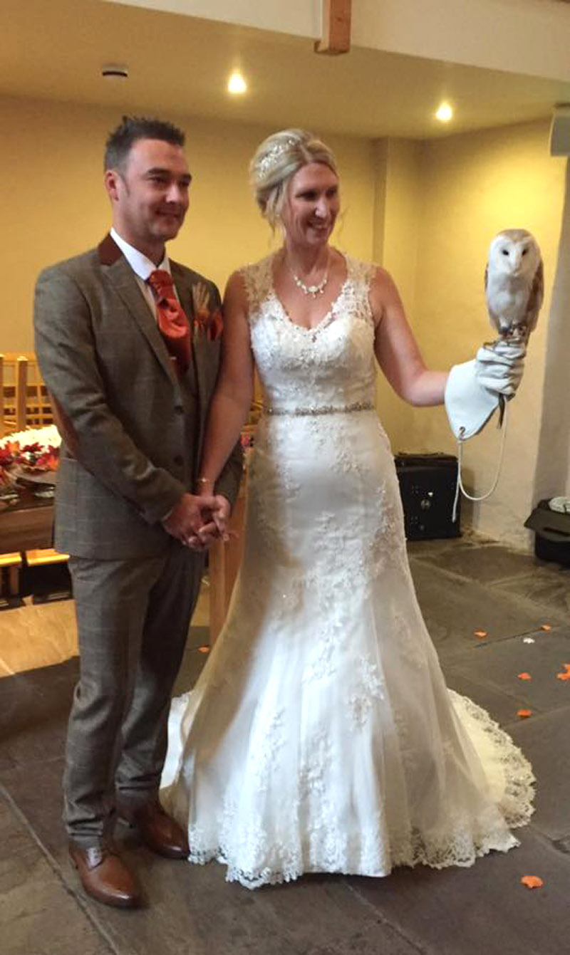 Ring on a Wing Owl Ring Bearer Jason & Dale The Ashes 6