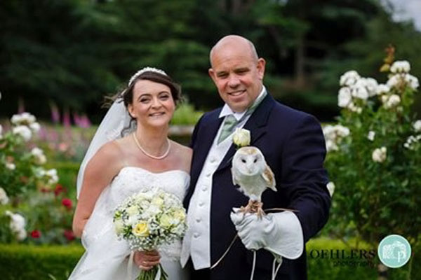 Ring on a Wing Owl Ring Bearer Pete & Sally1