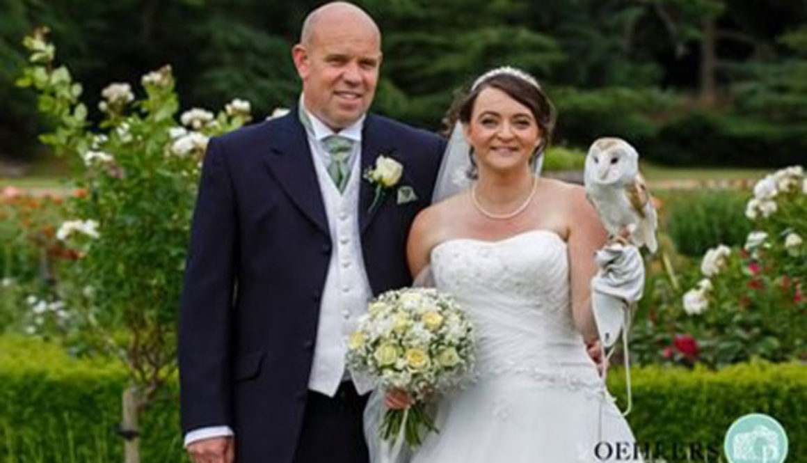 Ring on a Wing Owl Ring Bearer Pete & Sally2